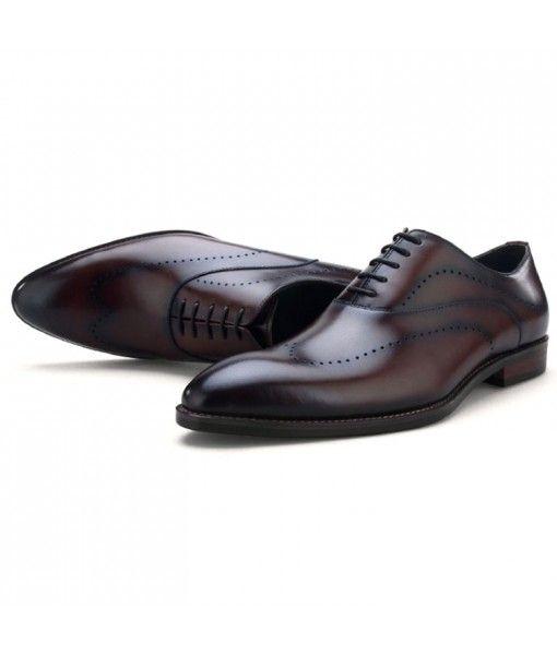 Hot sale new model design handmade dress shoe formal leather business shoes men