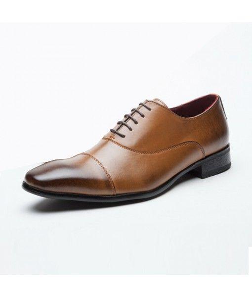 Oxford Hombres Men's Dress Shoes Business Genuine Leather Shoes Men